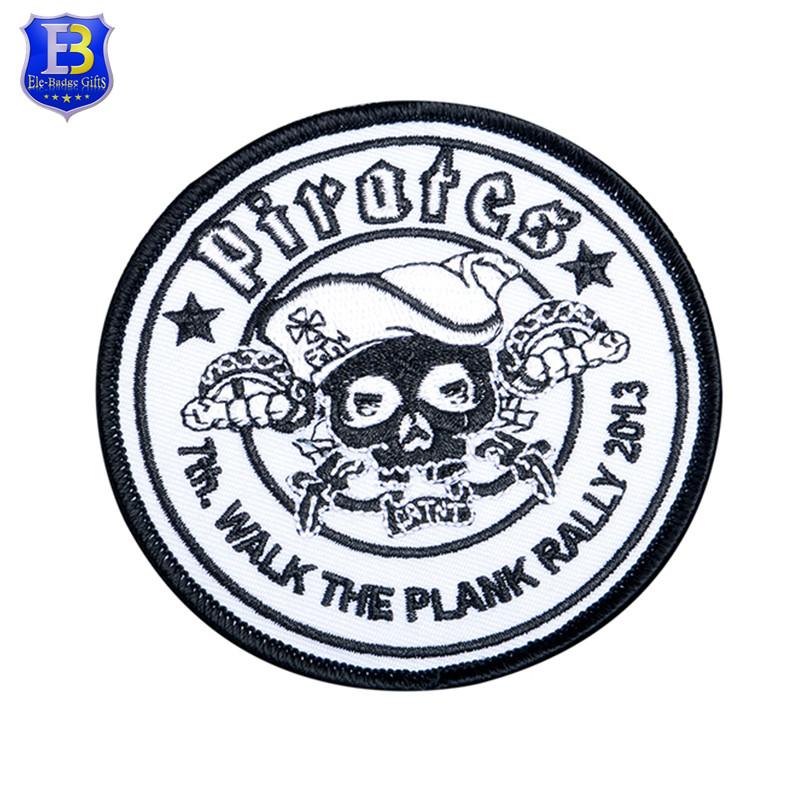 Patch bordado de alta qualidade com logotipo personalizado para clothin