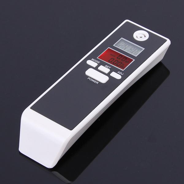 2 шт./лот электронный портативный тестер алкоголя извещатель двойной цифровой тестер алкоголя и таймер анализатор алкотестер