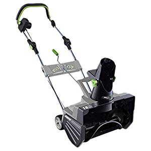 Earthwise 13.5 Amp Corded 18-inch Snow Thrower. Quick And Easy Way To Tackle Winter's Wrath.