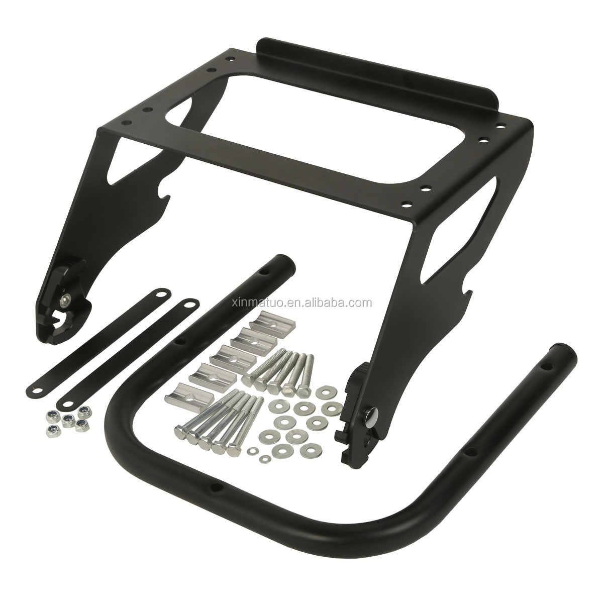 XMT290697-01-B Motorcycle parts New Detachable Black Solo Tour Pak Luggage Rack ForTouring Glide China factory