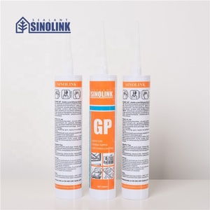 SINOLINK Curtain wall weatherproofing fire resistant adhesive fiber filler for silicone