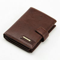 Baellerry Wallet Luxury Men Wallets Casual Male Clutch Brand Leather Wallet Men Purse money bag