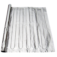 Aluminum Foil Wood Floor Infloor Heating Mat