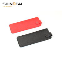 Shinetai New Slim Portable Handmade Women PU Optical Reading Glasses Case Pouch