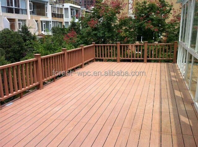 Wpc al aire libre barandillas al aire libre escalera for Escalera de madera al aire libre precio