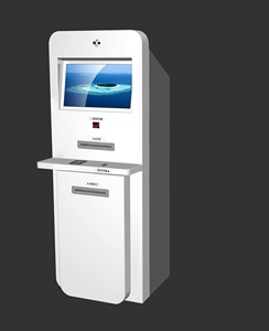 kiosk payment machine accept cash /coin /bank card payment