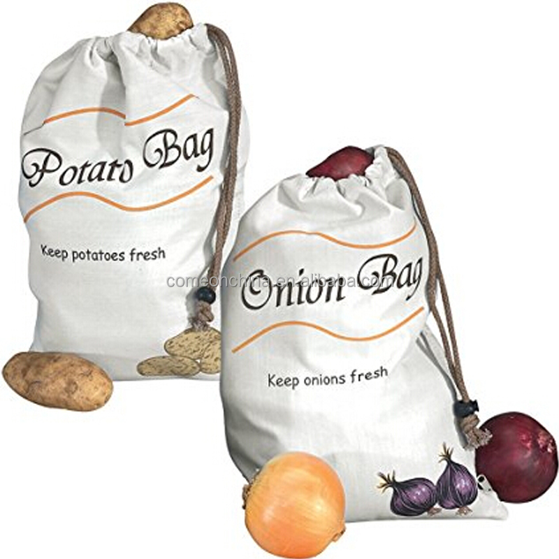 Potato & Onion Vegetable Storage Bags keep fresh