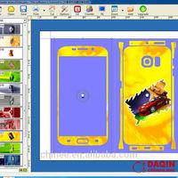 3d mobile skin sticker cutting software