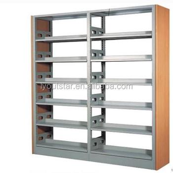 een pijler mdfmultiplex dubbele kolom staal boekenplank boekenkast voor bibliotheek boekhandel gebruik