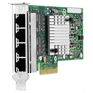AddOn HP 593722-B21-AOK / 593722-B21 Comparable 10/100/1000Mbs Quad Open RJ-45 Port 100m PCIe x4 Network Interface Card (AddOn593722-B21-AOK )