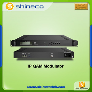 IP QAM Modulator With 2 Carrier/16 Carrier/32 Carrier RF Output