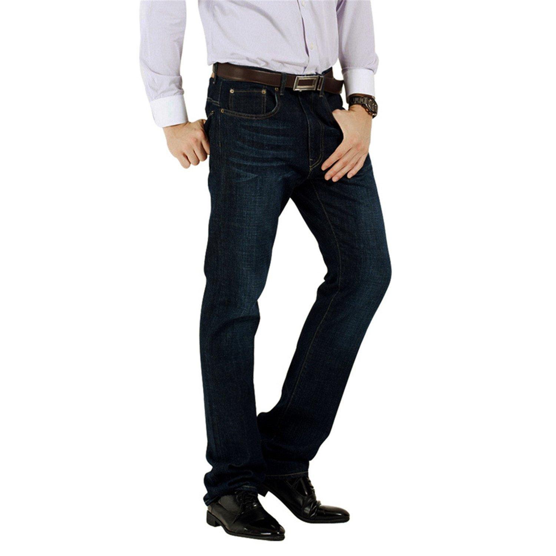 688fbc148298 Get Quotations · Phillip Dudley Brand Jeans Men Casual Denim 100% Cotton Mens  Jeans Low Waist Fit Straight