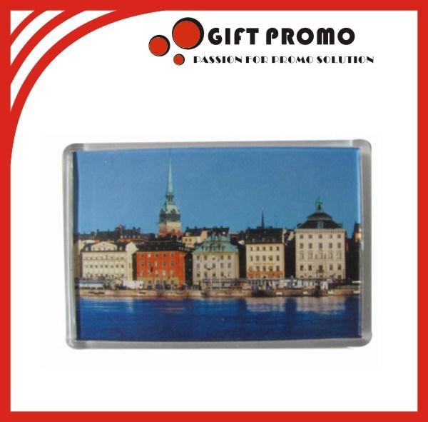 Promotional Acrylic Fridge Magnet Photo Frame