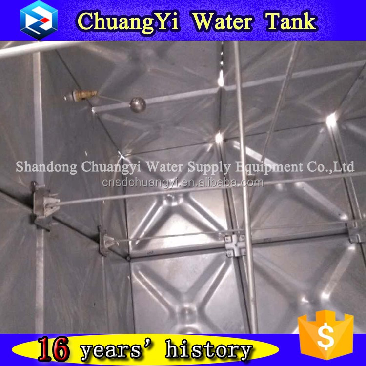 google widely searched galvanized pressed steel water tank/water tank price with ISO certificate