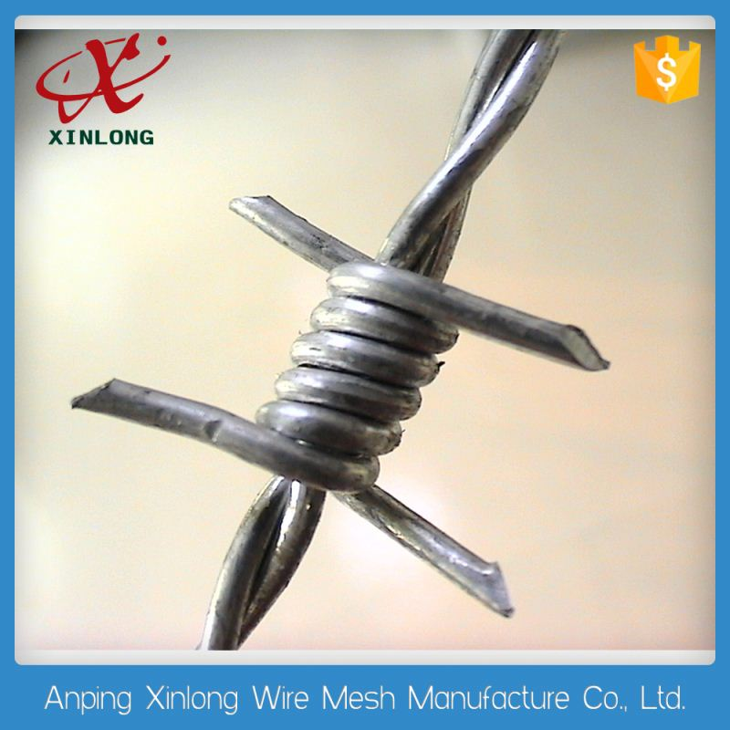 Hot Dipped Galvanized Plastic Coated Razor Barbed Wire