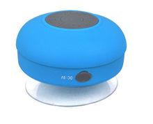 Portable waterproof Wireless Bluetooth shower Speaker with mic mini Handsfree Mic Suction Shower bluetooth speaker retail