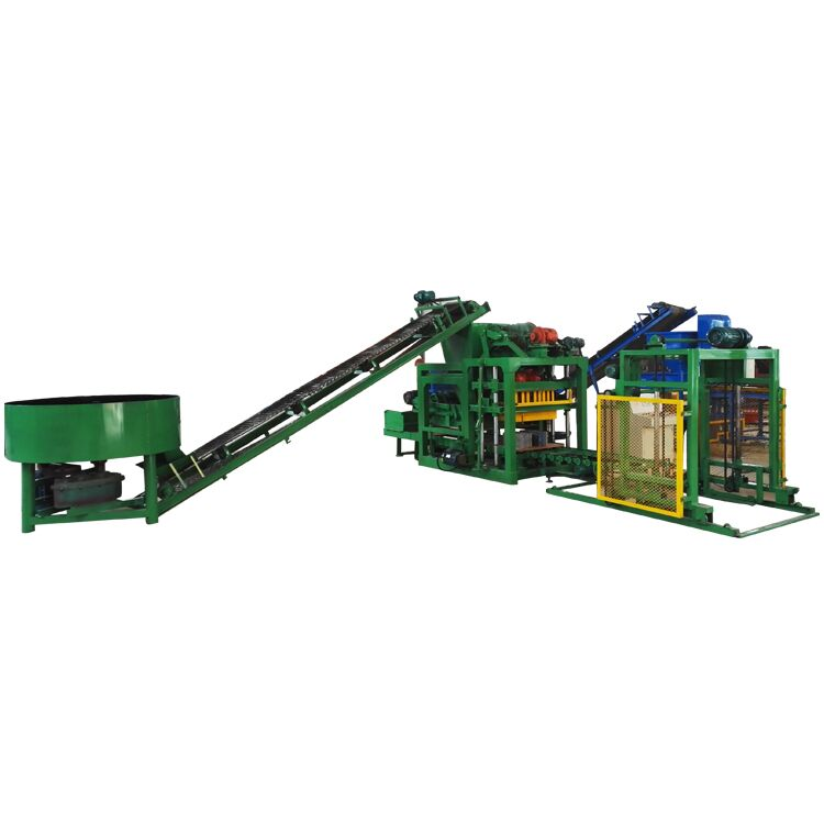 QTJ4-25 büyük kar beton tuğla yapma makinesi kenya pazarı için hfly kül ollow blok yapma makinesi