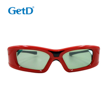 3D digital cinema glasses with battery -GT410