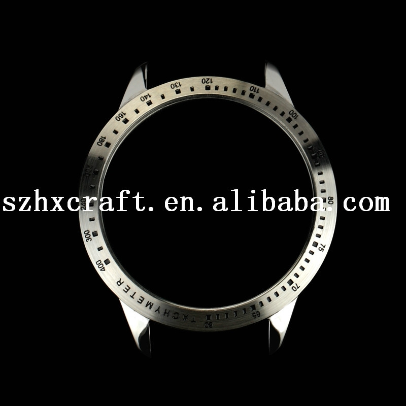 Chinese Watch Case Factory Custom Made Wristwatch Parts With Precision Scale