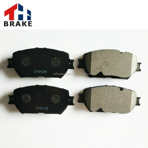 Camry auto parts lucas brake pad 04465-30340