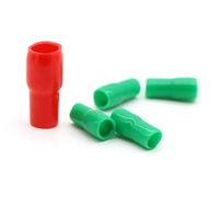 Free Sample REACH/RoHS Vinyl Wire End Caps Soft PVC Cable End Caps Cable terminal insulation cover sleeve