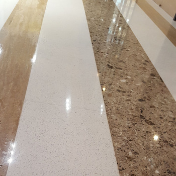 Best Price Interior Cladding Diamond Sparkle White Quartz Floor Tile