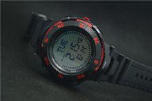 2016 новые роскошные мужские цифровые часы с компасом, женские водонепроницаемые часы со светодиодной подсветкой для плавания 50 м, модные мно...(Китай)