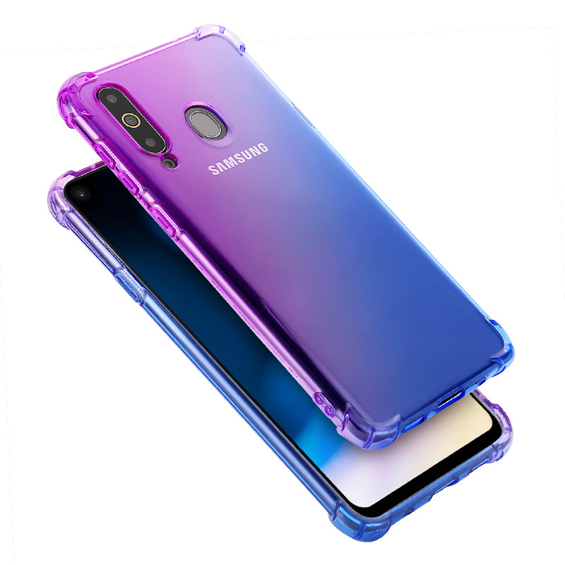 Clear Silicon Case voor Samsung Galaxy A80 Case Soft Back Cover voor Samsung A10 A60 A40