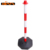 PP material water filled road safety warning bollard barrier