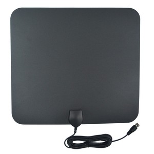 NEW compact indoor HDTV antenna Model no. ANT-101-BW Digital Flat panel Indoor TV Antenna high gain UHF tv antenna