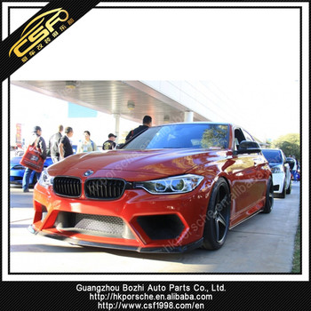 Wild Looking Body Kit For 3 Series F30 F35 In Asp Style Pp Material