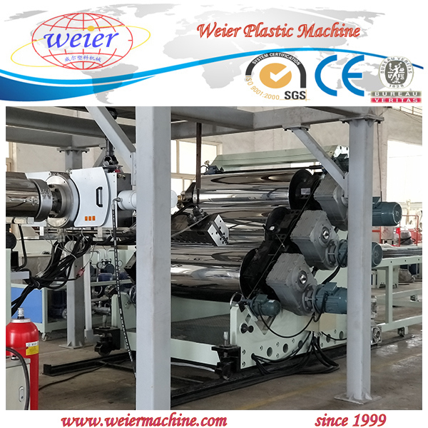 PP PE sheet plastic extruding machine/extruder/extrusion machinery