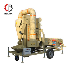 Multifunctional grain huller cleaner agricultural machinery