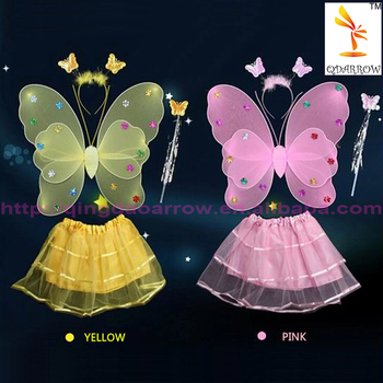 Tutu fairy butterfly wing for party costume