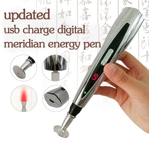Hottest health product bio feedback electric meridian energy pen with blood circulation function