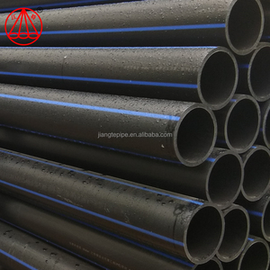 hdpe pipe roll ISO4427 large size pe pipe SDR11 HDPE water pipe