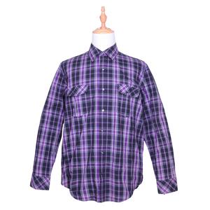 Oemtailor high quality plaid shirt men's cheap plaid flannel shirts