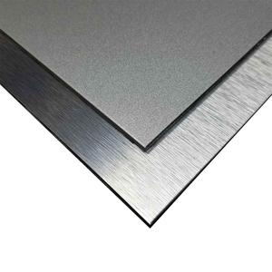 Silver Brushed Alucobond ACM 3mm PVDF Aluminum Composite Panel