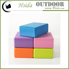 high density Eco-friendly EVA kids foam yoga bricks Eco-friendly EVA yoga foam rubber brick