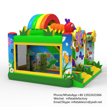 PK 2016 New Design Inflatable Combo Kids Inflatable Bouncer And Slide China Supplier
