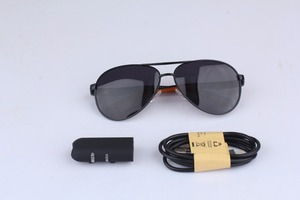 Latest DIY Best quality 720P best video spy glasses with insert battery