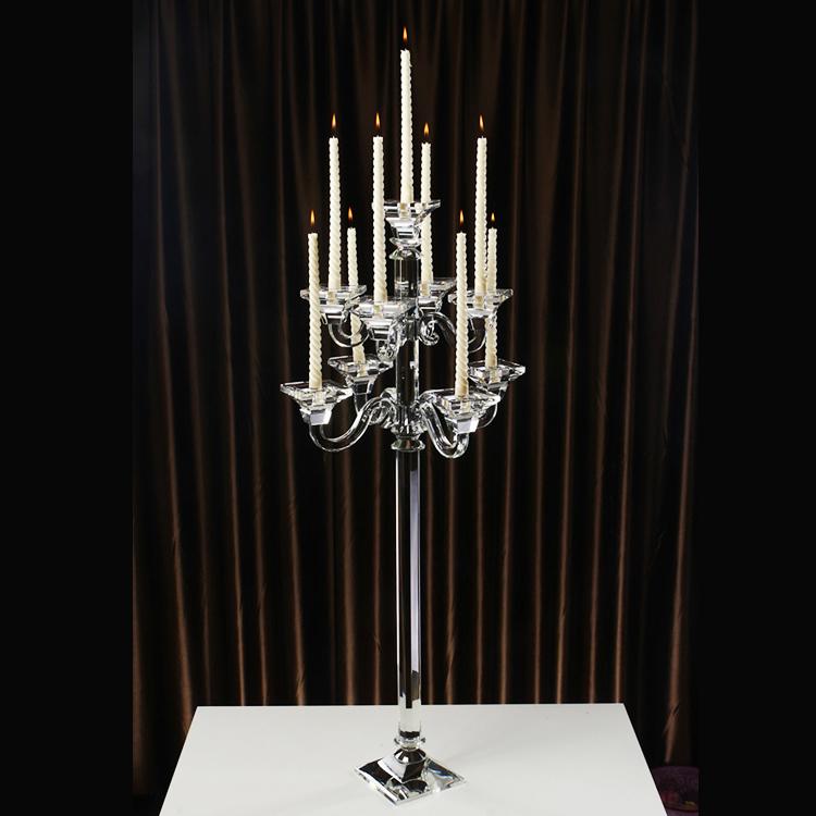 modern wedding table crystal candelabra centerpieces ... - photo#44