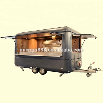 Fast Food Trailer Mobile Food Cart For Sale