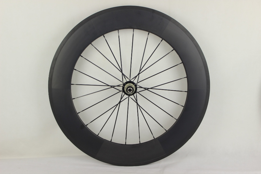 High quality carbon bicycle parts wheel set 88mm clincher 700c carbon cycling wheel