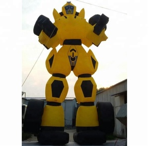 Most popular movie characters big wasp activity cartoon inflatable puppet costume