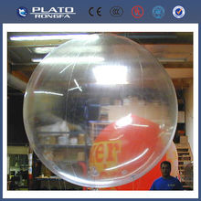 pvc large beach ball, inflatable transparent beach ball
