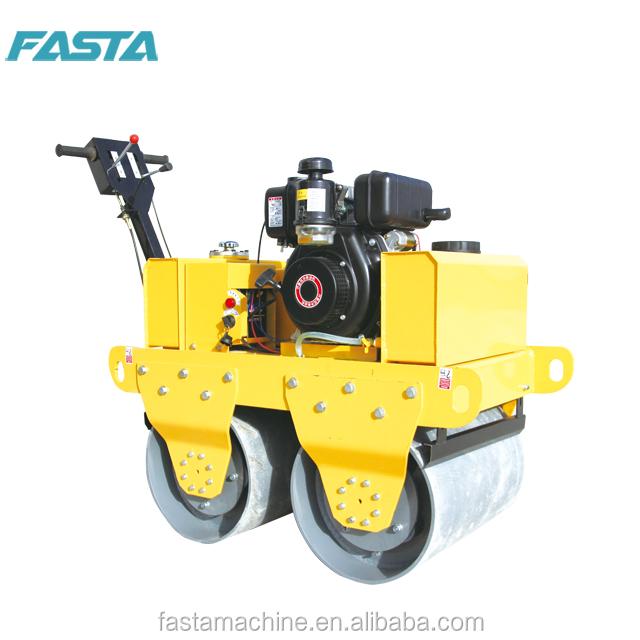 New factory sale 550kg walk behind Vibrator roller bomag machine