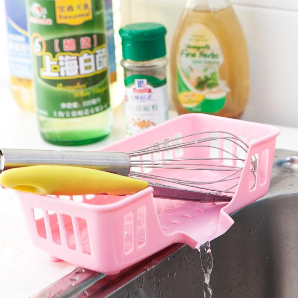 Jingzou Drain rack storage basket creative kitchen sink sink multi-purpose storage rack multi-purpose washing sponge storage