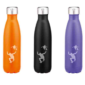 480ML BPA free double wall stainless steel cola bottle