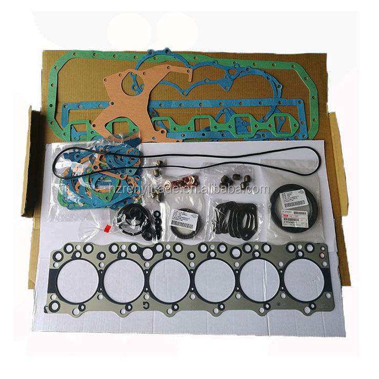 Marka yeni 6BG1engine onarım Conta seti kiti EX200 EX200-5 1-87812311-0 1878123110 8- 97651210-5